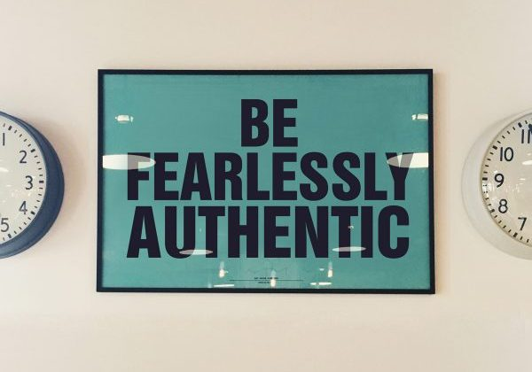 Be Fearlessly Authentic - Excutive Coaching
